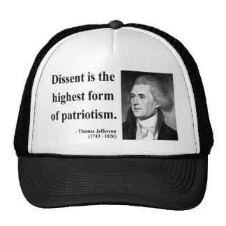 Cita 15b de Thomas Jefferson Gorras