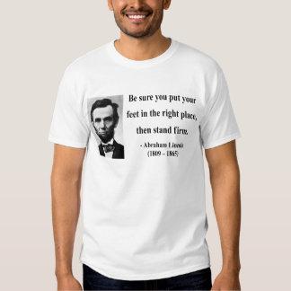Cita 16b de Abraham Lincoln Poleras