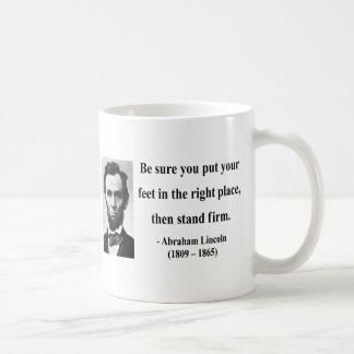 Cita 16b de Abraham Lincoln Tazas De Café