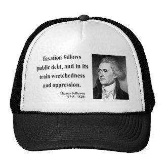 Cita 17b de Thomas Jefferson Gorros