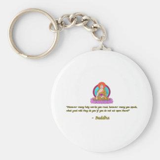 Cita #1 de Buda Llavero Redondo Tipo Pin