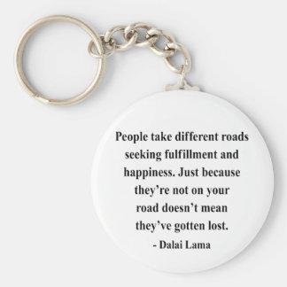 cita 1a de Dalai Lama Llavero Redondo Tipo Pin