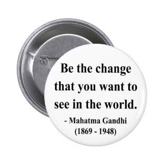 Cita 1a de Gandhi Pin
