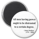Cita 1a de James Madison Imán
