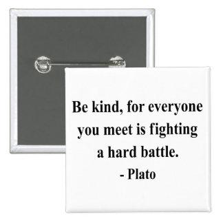 Cita 1a de Platón Pin