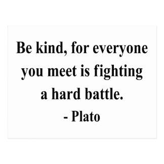 Cita 1a de Platón Postales