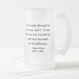 Cita 1a de Robert Frost Taza De Café