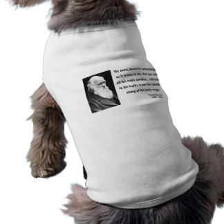 Cita 1b de Charles Darwin Camisas De Perritos