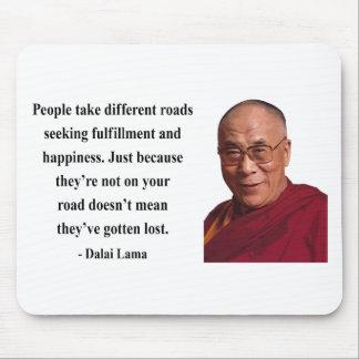 cita 1b de Dalai Lama Alfombrilla De Ratones