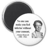 Cita 1b de Eleanor Roosevelt Iman De Frigorífico
