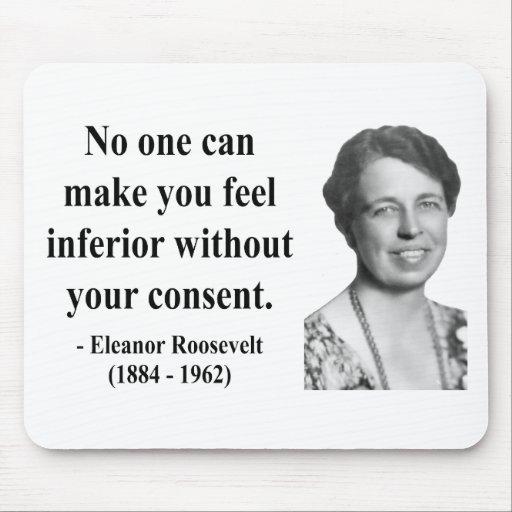 Cita 1b de Eleanor Roosevelt Tapetes De Raton