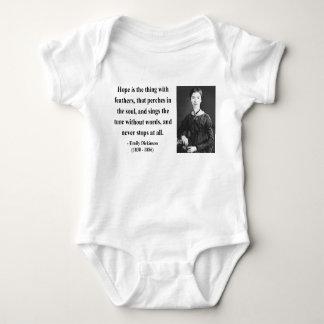 Cita 1b de Emily Dickinson Remeras