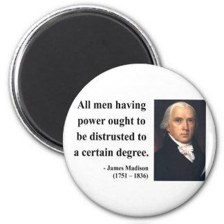 Cita 1b de James Madison Imán Redondo 5 Cm