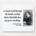 Cita 1b de Nietzsche Alfombrilla De Raton