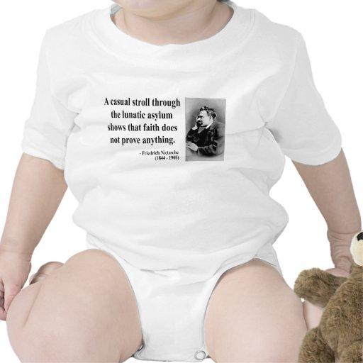 Cita 1b de Nietzsche Traje De Bebé