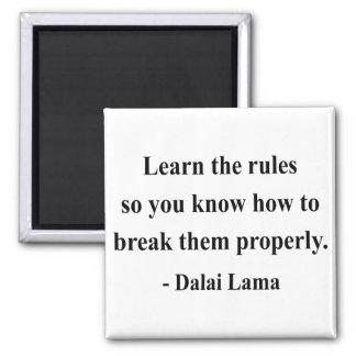 cita 2a de Dalai Lama Imán Cuadrado