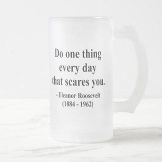 Cita 2a de Eleanor Roosevelt Taza De Café