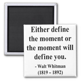 Cita 2a de Whitman Imán
