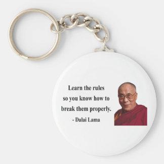 cita 2b de Dalai Lama Llavero Personalizado