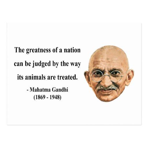 Cita 2b de Gandhi Postal