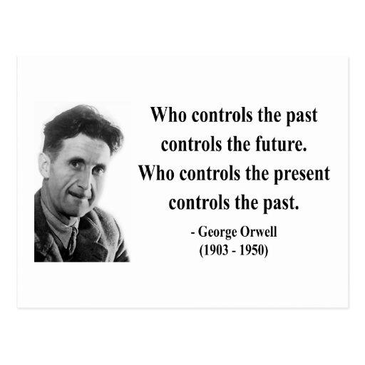 Cita 2b de George Orwell Postal