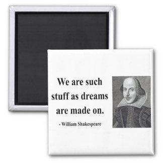 Cita 2b de Shakespeare Imán Cuadrado