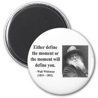 Cita 2b de Whitman Imán De Frigorífico