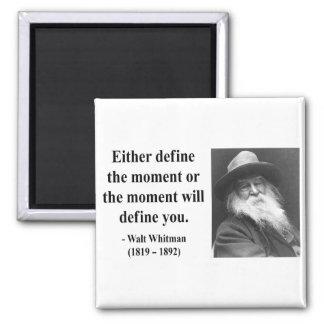 Cita 2b de Whitman Imán Cuadrado