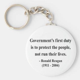 Cita 3a de Reagan Llavero Redondo Tipo Pin
