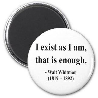 Cita 3a de Whitman Imán Redondo 5 Cm