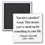 Cita 3a de Winston Churchill Imán Para Frigorifico