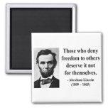 Cita 3b de Abraham Lincoln Imanes