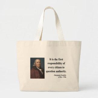 Cita 3b de Ben Franklin Bolsa