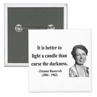 Cita 3b de Eleanor Roosevelt Pins