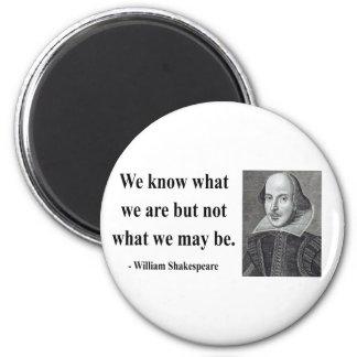Cita 3b de Shakespeare Imán Redondo 5 Cm