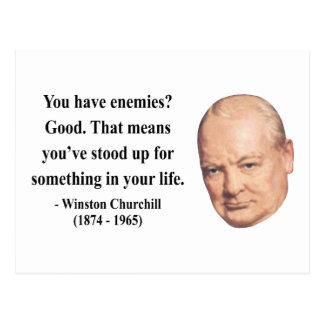 Cita 3b de Winston Churchill Postal