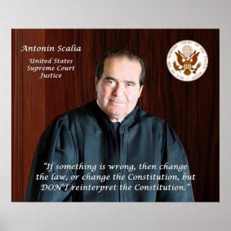 Cita #4 - Justicia Antonin Scalia Impresiones
