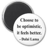 cita 4a de Dalai Lama Iman Para Frigorífico