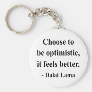 cita 4a de Dalai Lama Llavero Redondo Tipo Pin