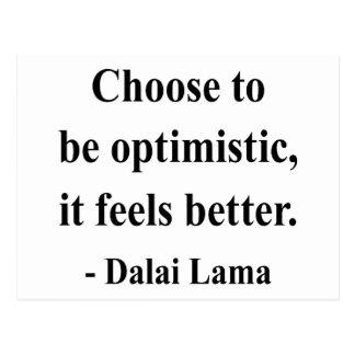 cita 4a de Dalai Lama Tarjeta Postal