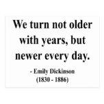 Cita 4a de Emily Dickinson Postal