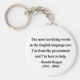 Cita 4a de Reagan Llavero Redondo Tipo Pin