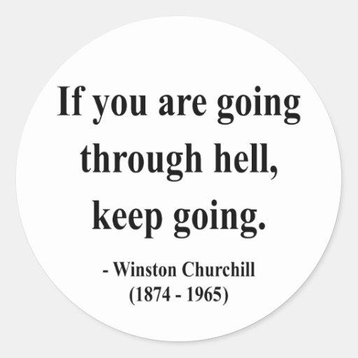 Cita 4a de Winston Churchill Etiquetas