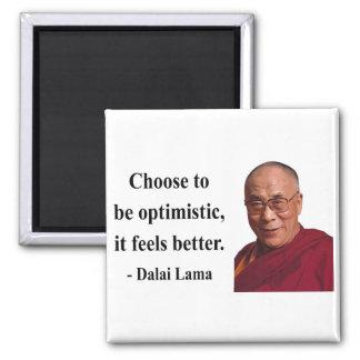 cita 4b de Dalai Lama Imán Cuadrado