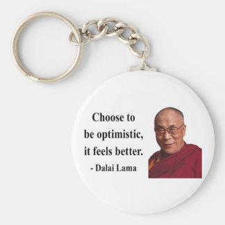 cita 4b de Dalai Lama Llavero Redondo Tipo Pin