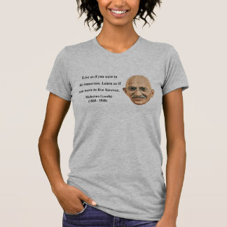 Cita 4b de Gandhi Camisas
