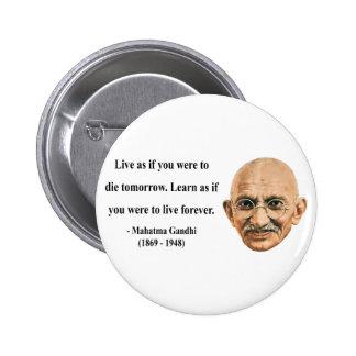 Cita 4b de Gandhi Pin