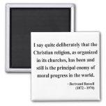 Cita 5a de Bertrand Russell Imán Para Frigorifico