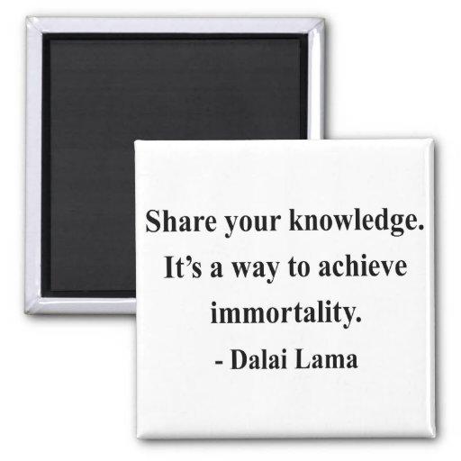 cita 5a de Dalai Lama Iman Para Frigorífico