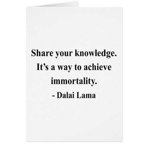 cita 5a de Dalai Lama Tarjeta De Felicitación